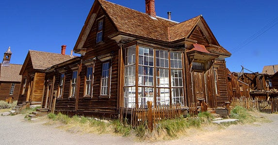 Bodie, California, Population 575
