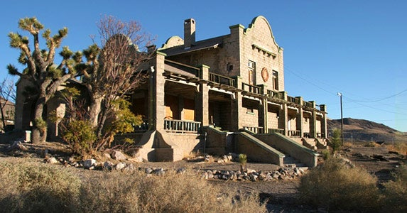 Rhyolite, Nevada, Population 1,005