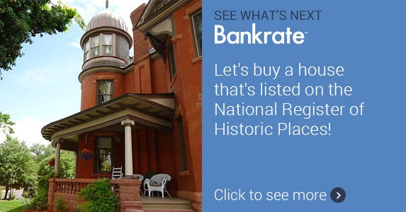 Let's buy a house that's listed on the National Register of Historic Places! © Photo courtesy of Realtor.com