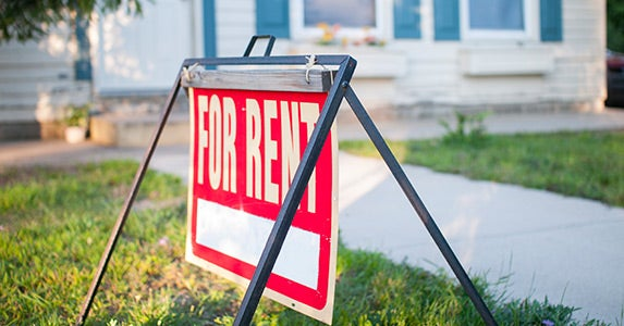 Live on one side, rent out the other © iStock