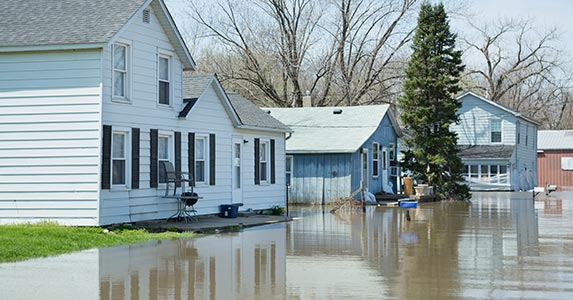 Here's a flash: Flooding! | Greg Vote/Getty Images