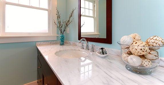 Updated kitchen and bath © Artazum and Iriana Shiyan/Shutterstock.com