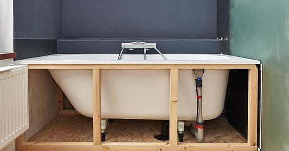 Bathroom remodel | pbombaert/Shutterstock.com