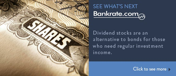 Dividend stocks are an alternative to bonds for those who need regular investment income.