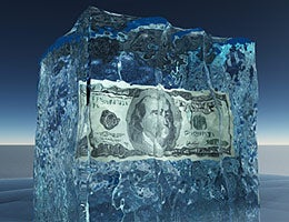 What if your pension freezes? © Bruce Rolff/Shutterstock.com