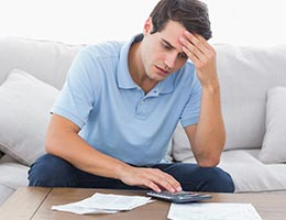 Excuse No. 2: I have too much debt © wavebreakmedia/Shutterstock.com