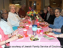 What Naturally Occurring Retirement Communities do © Photo courtesy of Jewish Family Service of Cincinnati