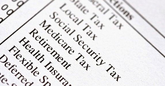 Where do payroll deductions for Social Security go? © Stephanie Frey / Fotolia
