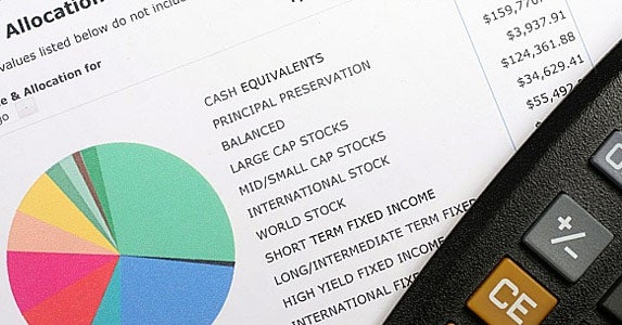 Step 3: Rethink your asset allocation strategy © Ryan R Fox/Shutterstock.com