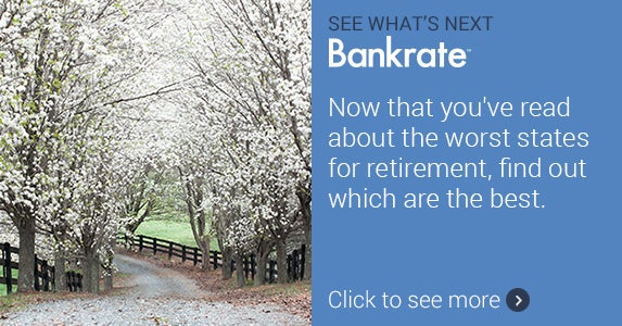 Now that you've read about the worst states for retirement, find out which are the best.