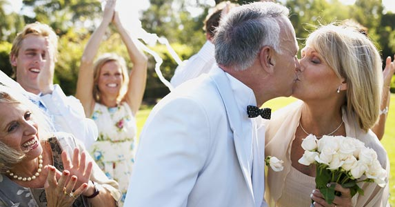 9 months of marriage is required -- mostly | Marc Debnam/DigitalVision/Getty Images
