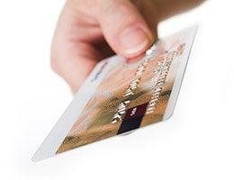 9. Consider a rewards credit card © Ingvald Kaldhussater/Shutterstock.com