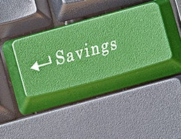2. Get an online savings account © arka38/Shutterstock.com