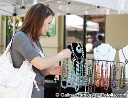 Sidewalk sales and jewelry