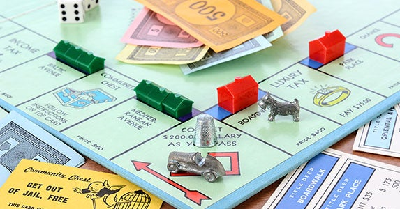Learn about life playing Monopoly © LunaseeStudios/Shutterstock.com