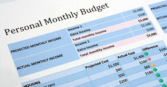 Start with a basic budget © maxexphoto / Fotolia