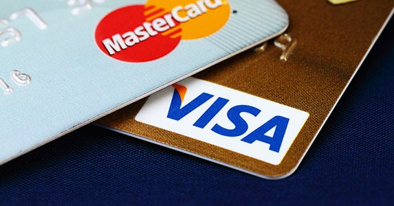 Major credit cards © iStock