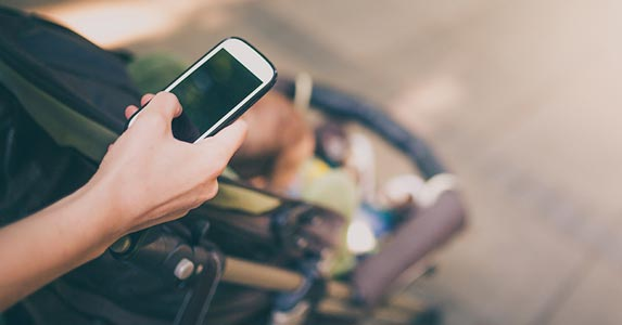 Smartphones can be addictive © iStock