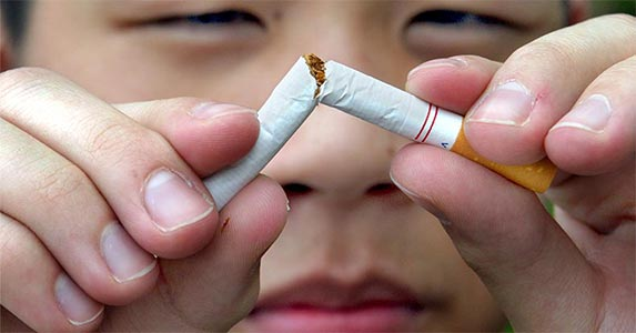 Smoke less, travel more | Jim Wilkes/Getty Images