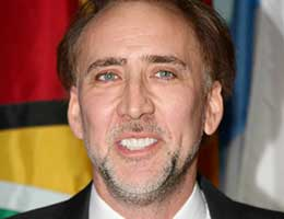 Nicholas Cage  PR Photos