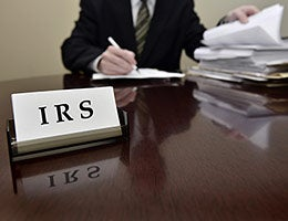 7. Keep an eye on IRS troubles © Lane V. Erickson/Shutterstock.com