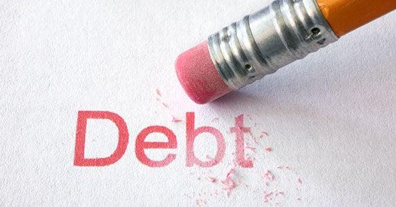 Forgiven debt | iStock.com/yenwen