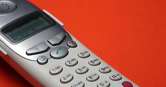 Don't deduct a telephone landline, but ... © iStock