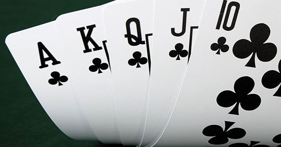 Poker and online gambling © taylor/Shutterstock.com