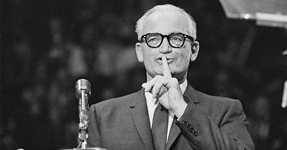 Taxes vs. government spending | Barry Goldwater
