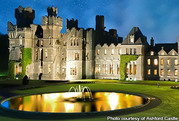 Feel like a royal, even if you aren't one © Photo courtesy of Ashford Castle