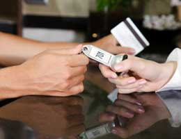 Expect credit card surcharges abroad