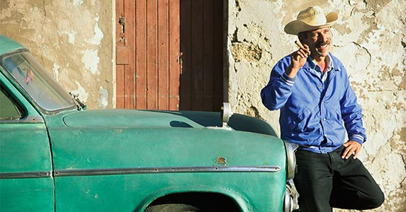 The hitchhiker's guide to Cuba | Peter Adams/Getty Images