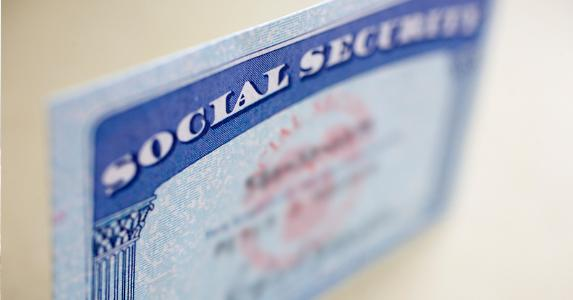 Social Security card © iStock