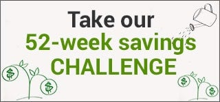 Take our 52-week savings challenge