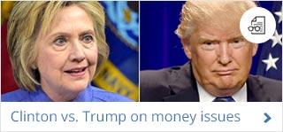 Hillary Clinton, Donald Trump |  AFP/Getty Image