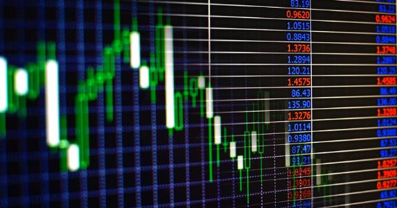 Stock market board showing volatility © sergign/Shutterstock.com