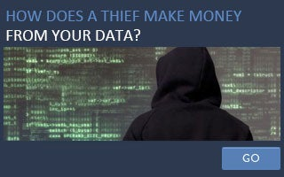 How does a thief make money from your data? © iStock