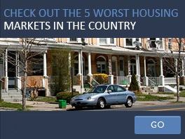 Check out the 5 worst housing markets in the country