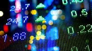 Stock market chart © iStock