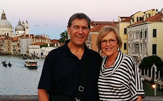 The Martins in Venice, Italy