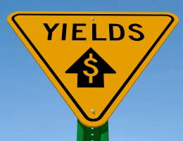 Yield and dollar signs