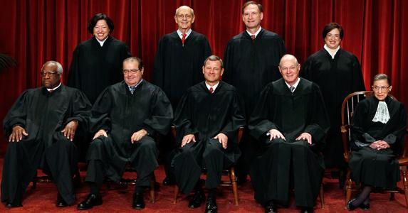 Supreme Court Justices © LARRY DOWNING/Reuters/Corbis