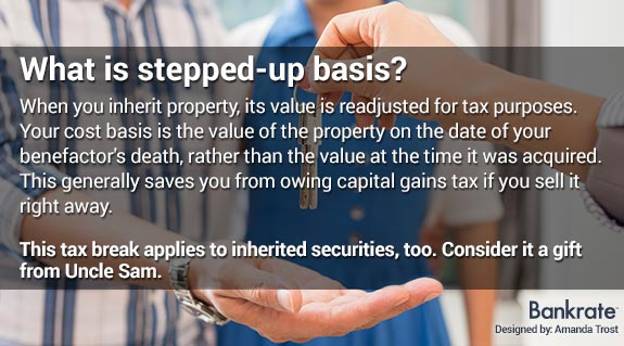 What is stepped-up basis © Shutterstock.com