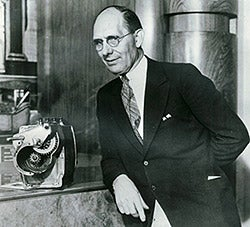 Charles Kettering with electric starter
