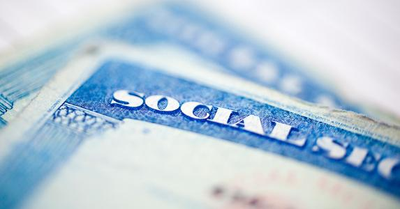 Social Security cards © iStock