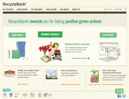 Get rewards points through recycling
