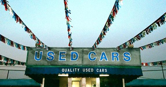 Used car lot | Cat Gwynn/Fuse/Getty Images
