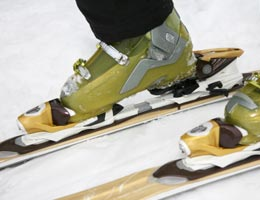 Sports equipment and cold-weather clothes
