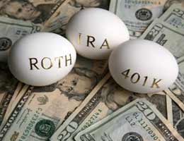 You can beef up retirement plans like IRAs