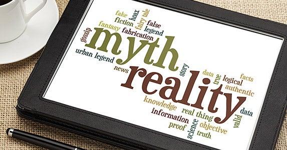 The skinny on these financial falsehoods © marekuliasz/Shutterstock.com